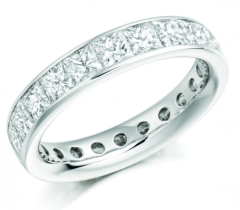 A Dream Come True with Diamond Eternity Rings